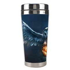Owl And Fire Ball Stainless Steel Travel Tumblers