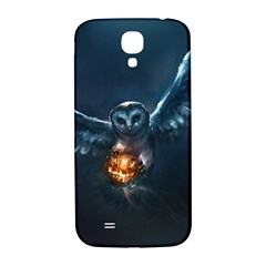 Owl And Fire Ball Samsung Galaxy S4 I9500/i9505  Hardshell Back Case