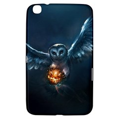 Owl And Fire Ball Samsung Galaxy Tab 3 (8 ) T3100 Hardshell Case