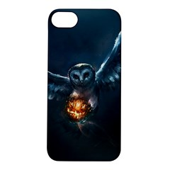 Owl And Fire Ball Apple Iphone 5s/ Se Hardshell Case