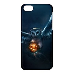 Owl And Fire Ball Apple Iphone 5c Hardshell Case