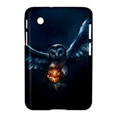 Owl And Fire Ball Samsung Galaxy Tab 2 (7 ) P3100 Hardshell Case