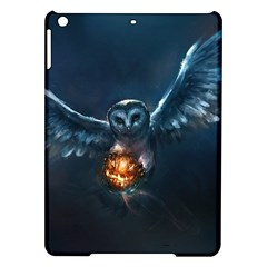 Owl And Fire Ball Ipad Air Hardshell Cases