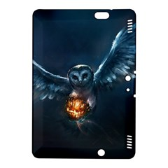 Owl And Fire Ball Kindle Fire Hdx 8 9  Hardshell Case