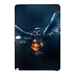 Owl And Fire Ball Samsung Galaxy Tab Pro 10 1 Hardshell Case
