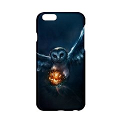 Owl And Fire Ball Apple Iphone 6/6s Hardshell Case