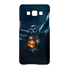Owl And Fire Ball Samsung Galaxy A5 Hardshell Case