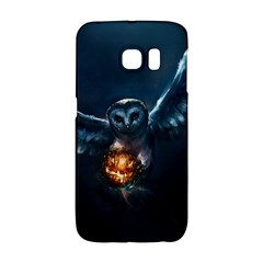 Owl And Fire Ball Galaxy S6 Edge