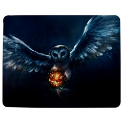 Owl And Fire Ball Jigsaw Puzzle Photo Stand (rectangular)