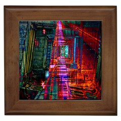 City Photography And Art Framed Tiles