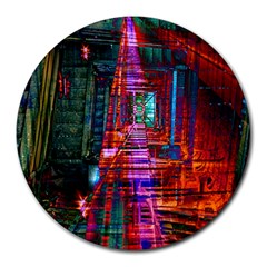 City Photography And Art Round Mousepads