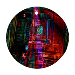 City Photography And Art Ornament (round)