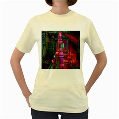 City Photography And Art Women s Yellow T-Shirt