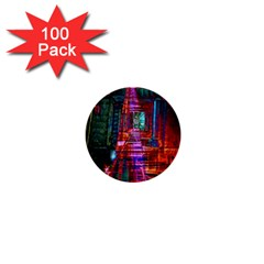 City Photography And Art 1  Mini Buttons (100 pack)