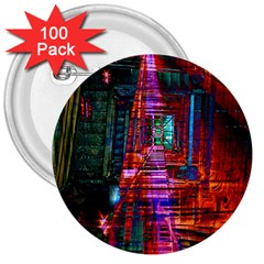 City Photography And Art 3  Buttons (100 Pack)