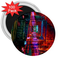 City Photography And Art 3  Magnets (100 Pack)
