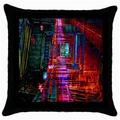 City Photography And Art Throw Pillow Case (black)