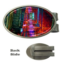 City Photography And Art Money Clips (Oval)