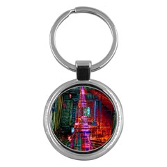 City Photography And Art Key Chains (round)