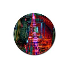 City Photography And Art Magnet 3  (round)
