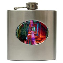 City Photography And Art Hip Flask (6 Oz)