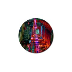 City Photography And Art Golf Ball Marker (4 Pack)
