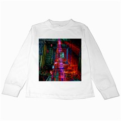 City Photography And Art Kids Long Sleeve T Shirts
