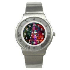 City Photography And Art Stainless Steel Watch