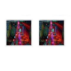 City Photography And Art Cufflinks (Square)