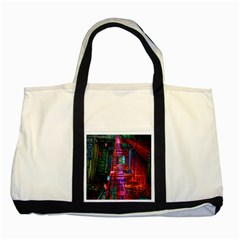 City Photography And Art Two Tone Tote Bag