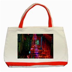 City Photography And Art Classic Tote Bag (red)