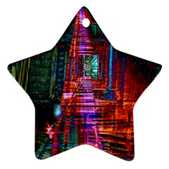City Photography And Art Star Ornament (two Sides)