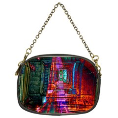 City Photography And Art Chain Purses (one Side)