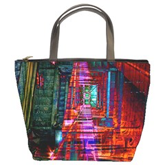 City Photography And Art Bucket Bags