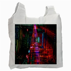 City Photography And Art Recycle Bag (two Side)