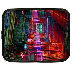 City Photography And Art Netbook Case (xxl)