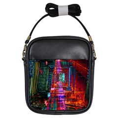 City Photography And Art Girls Sling Bags