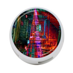 City Photography And Art 4 Port Usb Hub (two Sides)