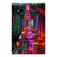 City Photography And Art Shower Curtain 48  x 72  (Small)