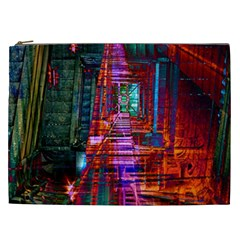 City Photography And Art Cosmetic Bag (xxl)