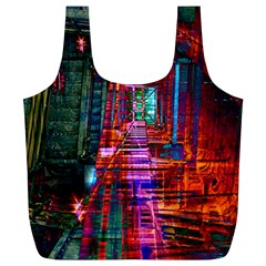 City Photography And Art Full Print Recycle Bags (L)