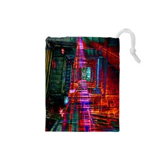 City Photography And Art Drawstring Pouches (Small)