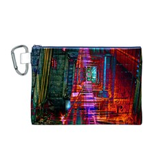 City Photography And Art Canvas Cosmetic Bag (M)