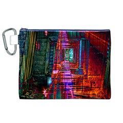 City Photography And Art Canvas Cosmetic Bag (xl)