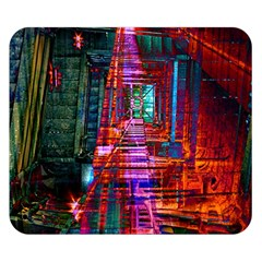 City Photography And Art Double Sided Flano Blanket (small)