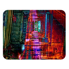 City Photography And Art Double Sided Flano Blanket (Large)