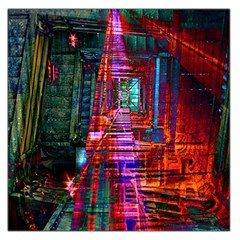 City Photography And Art Large Satin Scarf (square)