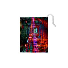City Photography And Art Drawstring Pouches (xs)