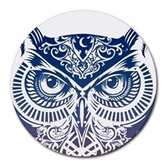 Owl Round Mousepads