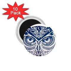 Owl 1 75  Magnets (10 Pack)